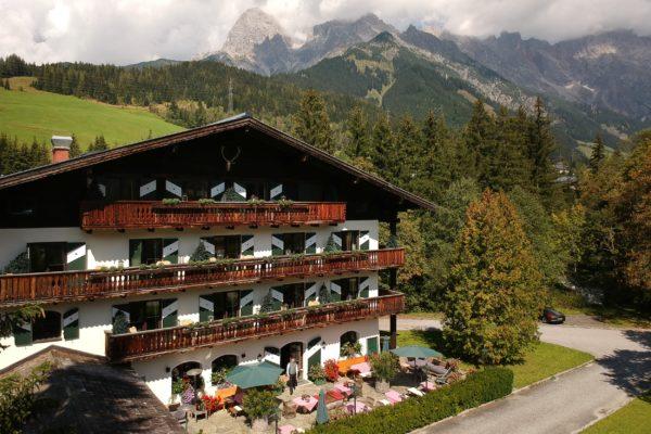 Boutique Hotel Wachtelhof im Sommer
